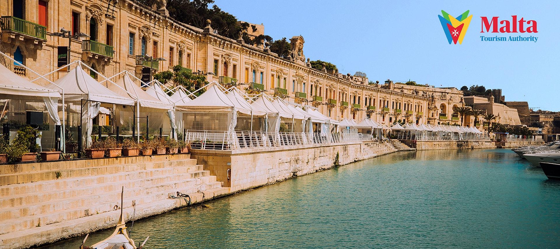 Harbour in Valletta