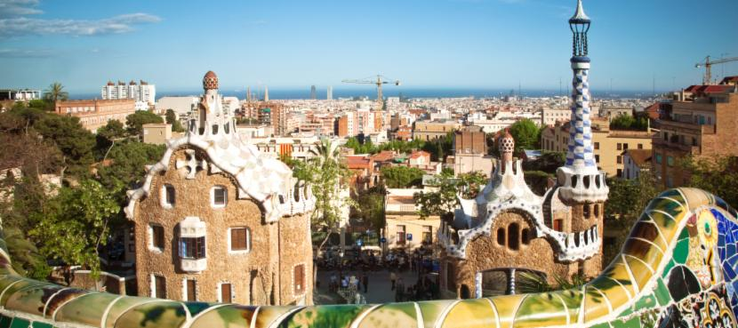 Parc Guell in Barcelona