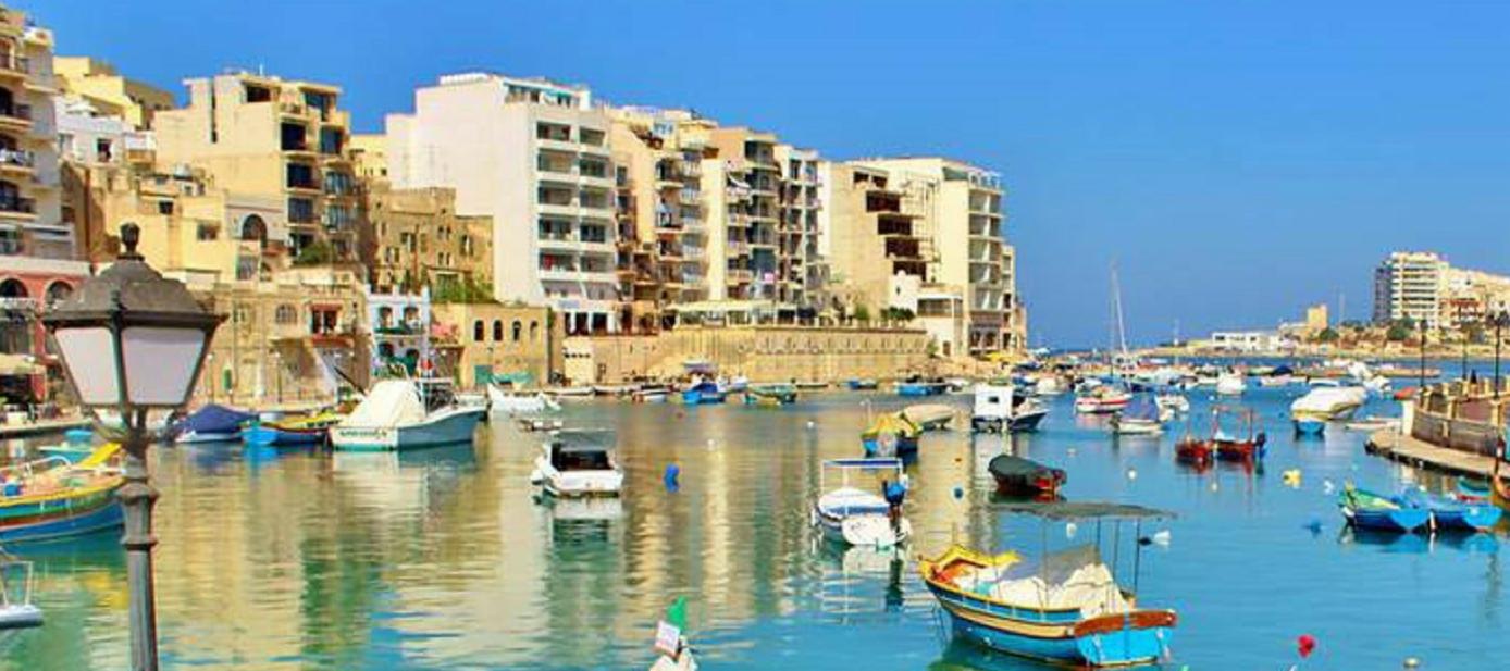 St. Julian's Bay in Valletta