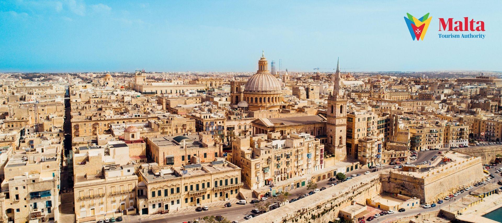 Valletta City in Malta