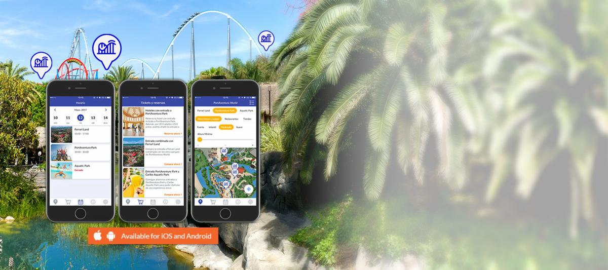 Image of PortAventura World's App