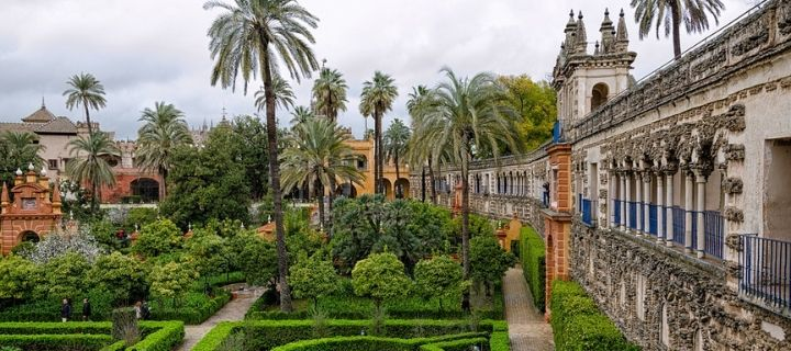 Real Alcazar Palace in Seville
