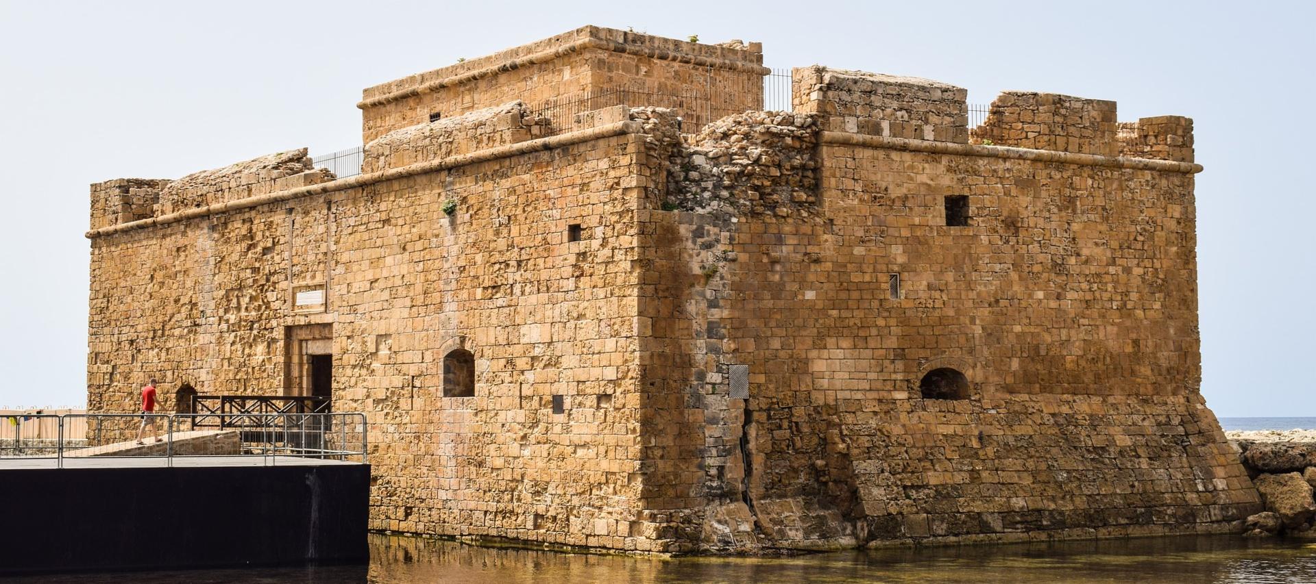 Paphos Castle Cyprus