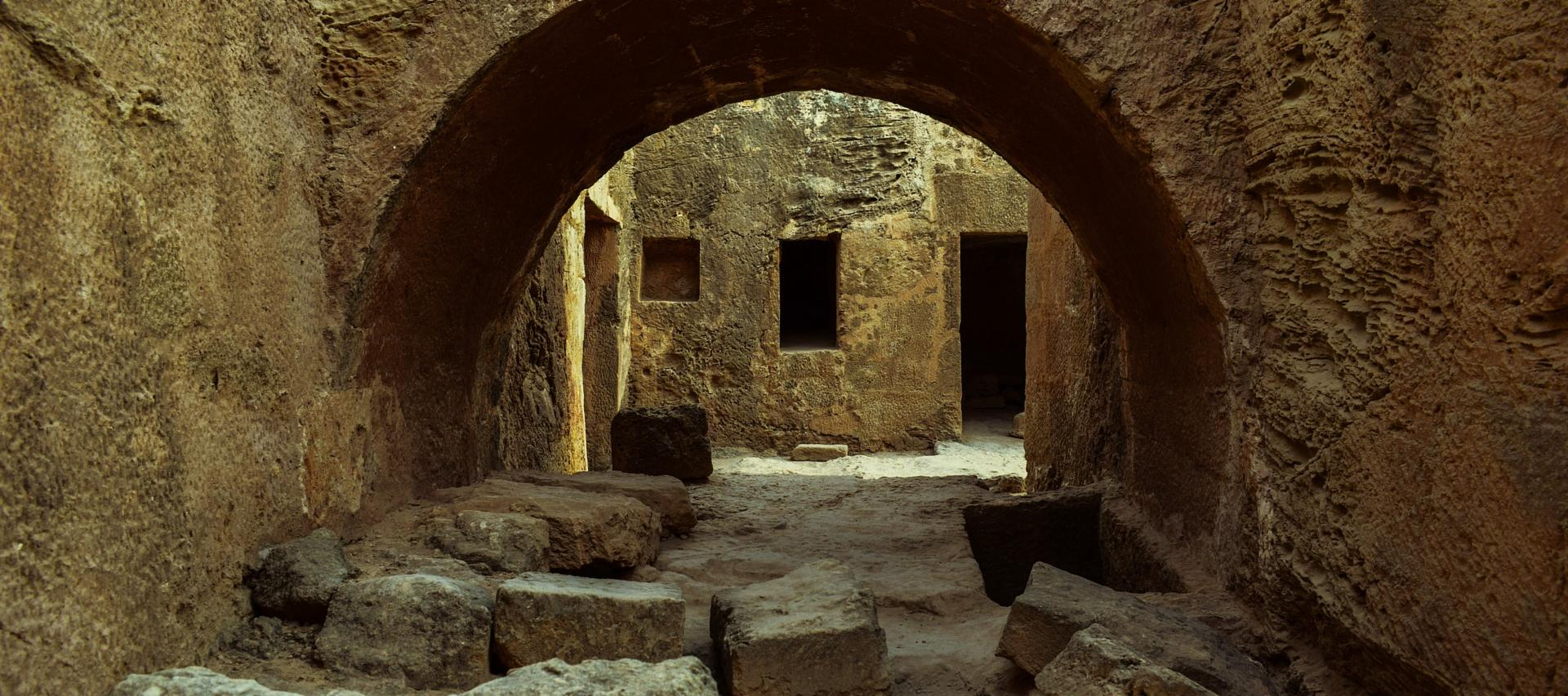 Tomb of the Kings Paphos Cyprus