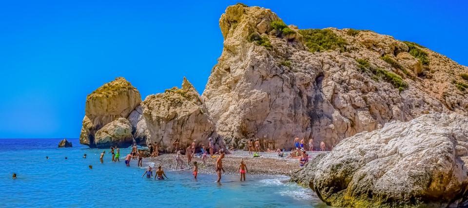 Aphrodite's Rock Paphos Cyprus