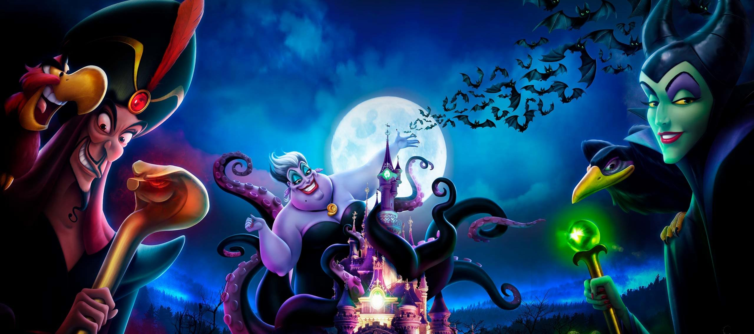 Villains at Disneyland Paris' Halloween Season