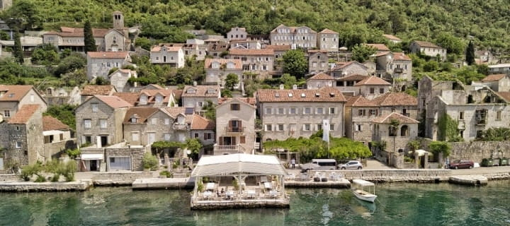 Hotel Admiral in Perast, Montenegro