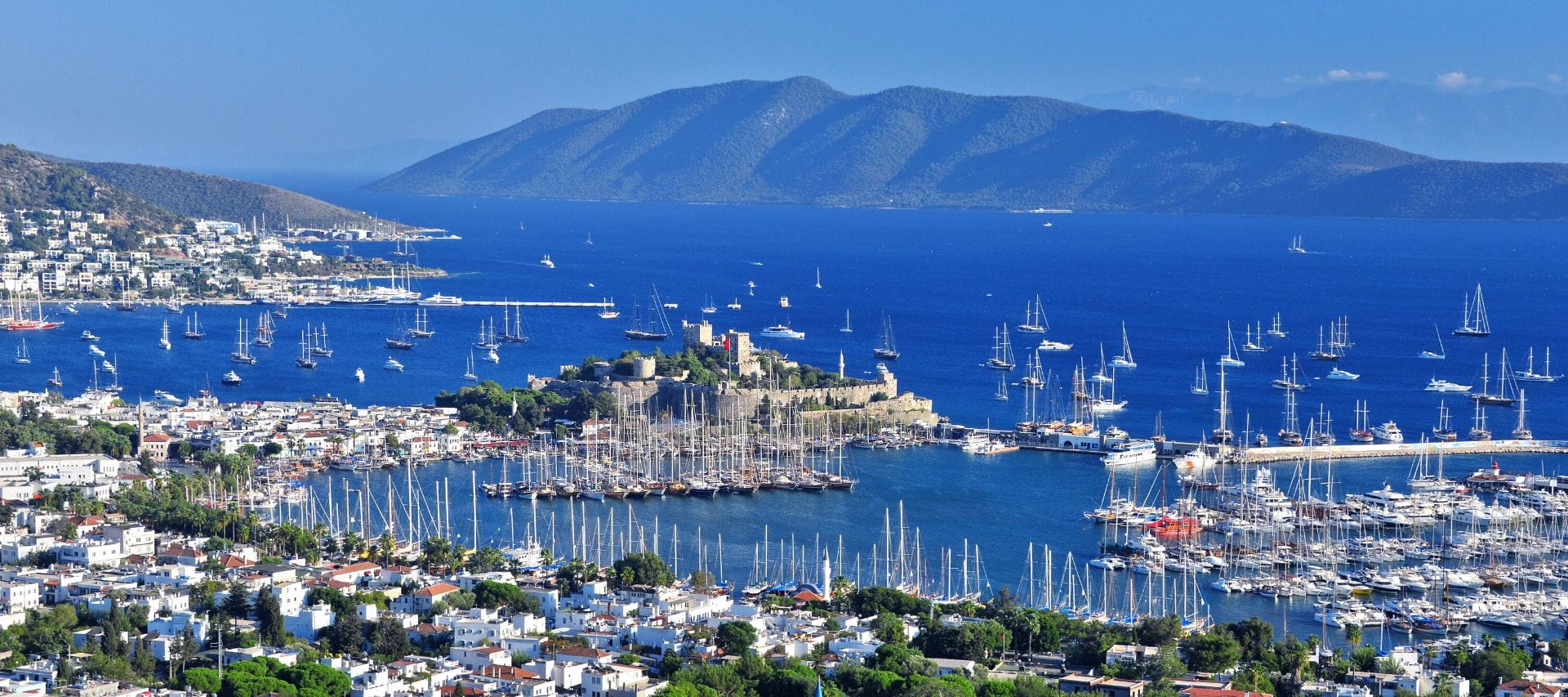 View of Bodrum Bay