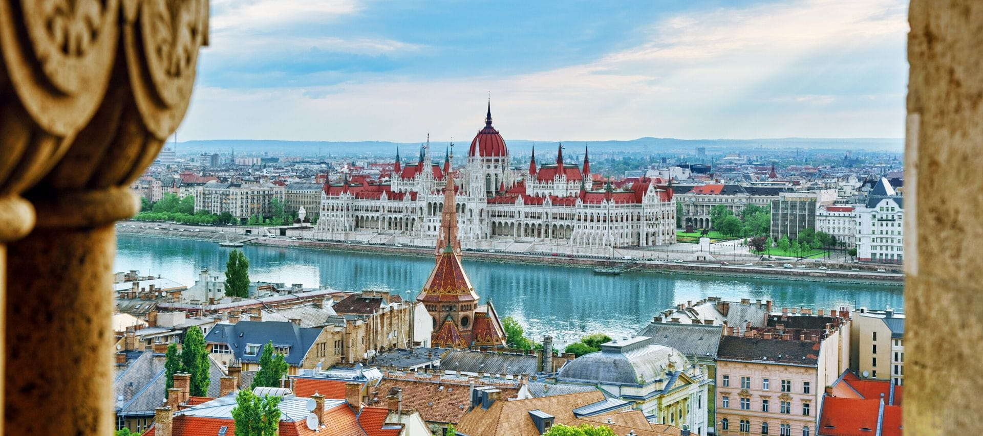 Aerial view of the Parliament in Budapest | Perfect Weekend in Budapest