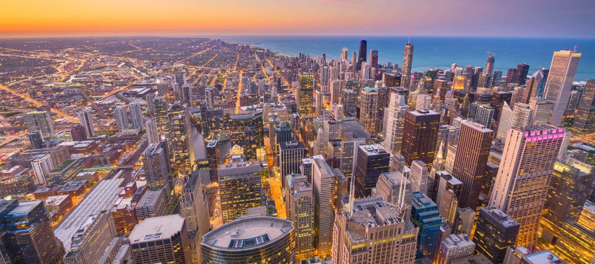 Aerial view of Chicago | Your Guide to Chicago