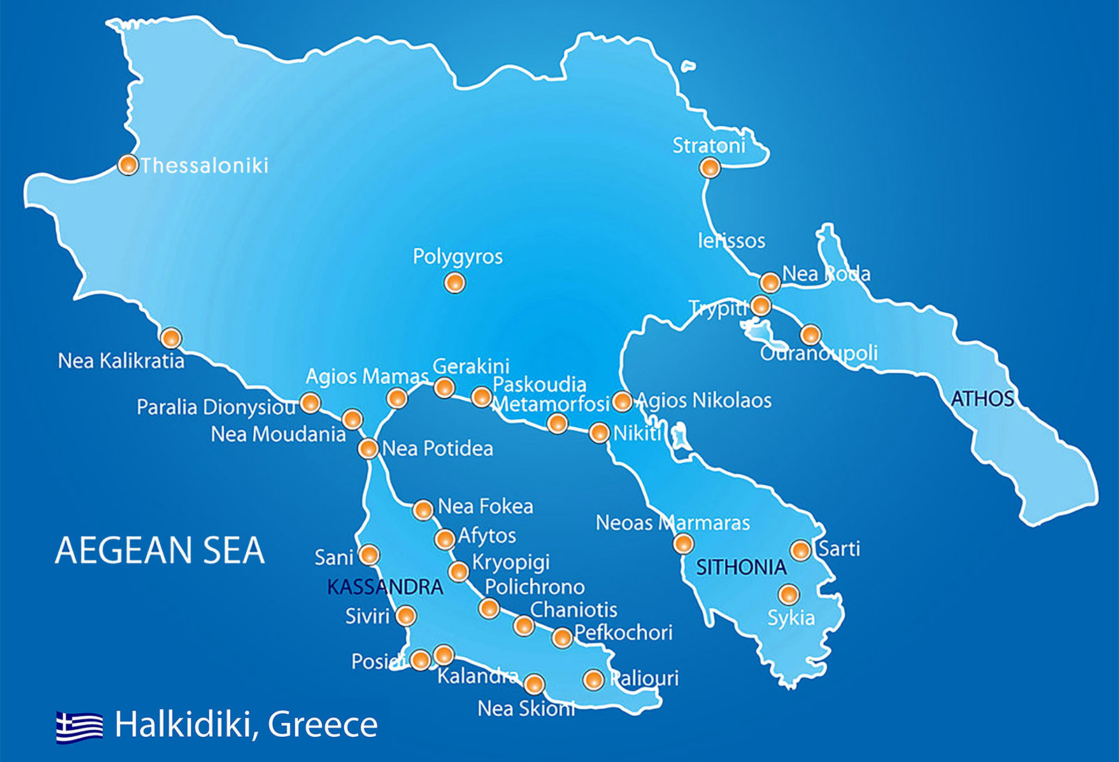 Holidays to Halkidiki Greece with Click&Go