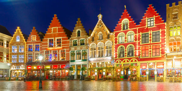 Bruges Christmas Markets - Book today with Click&Go