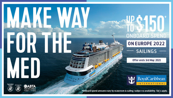Royal Caribbean International featured offer