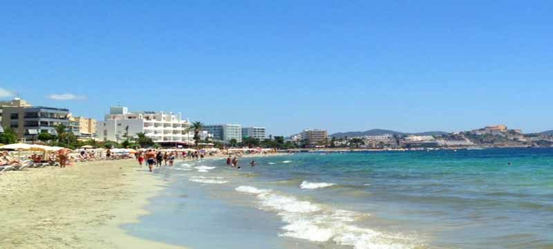 5e8f8b213d Playa den Bossa holidays include Aer Lingus flights, hotels including Jet  Apartments and transfers.