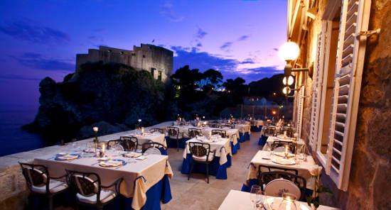 Dubrovnik's Nautika Restaurant