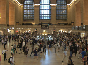 Every hour is rush hour in New York's Grand Central Station